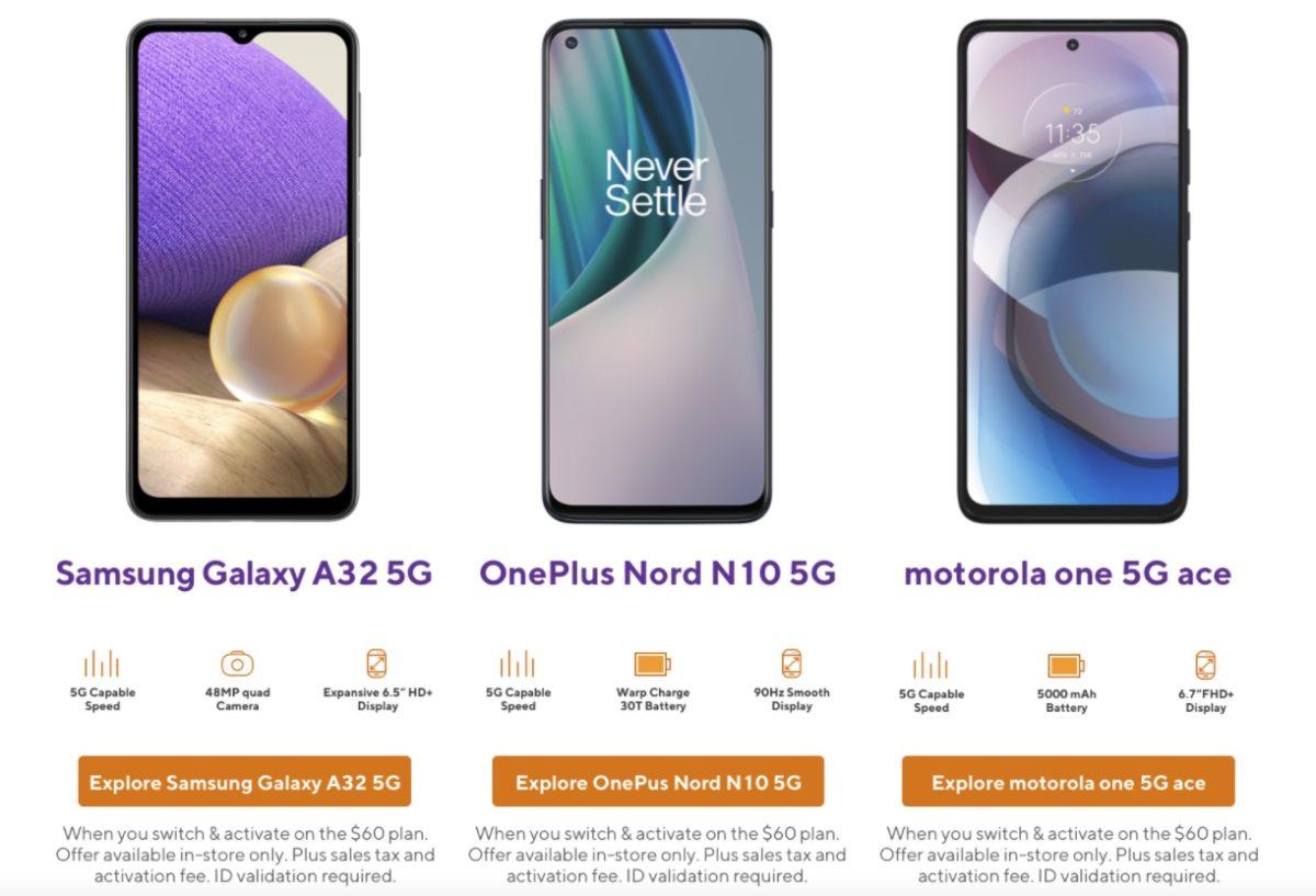 Metro: 5G phone deal