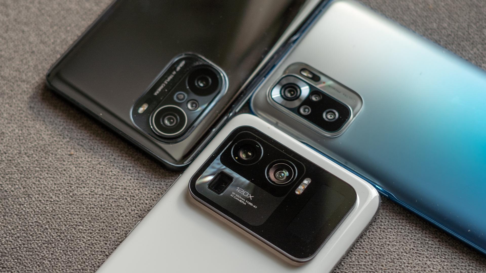 Xiaomi 2021 India close up on cameras