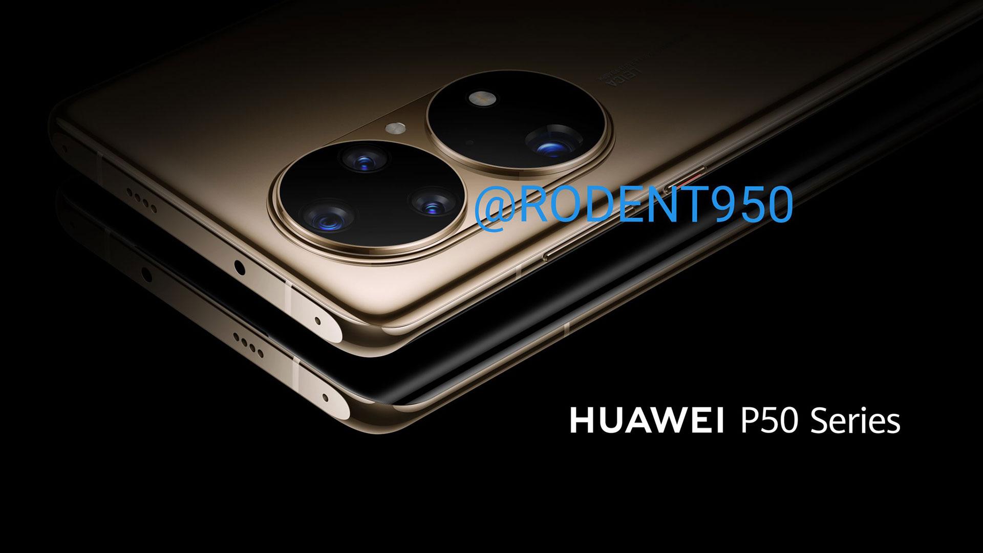 huawei p50 camera leak