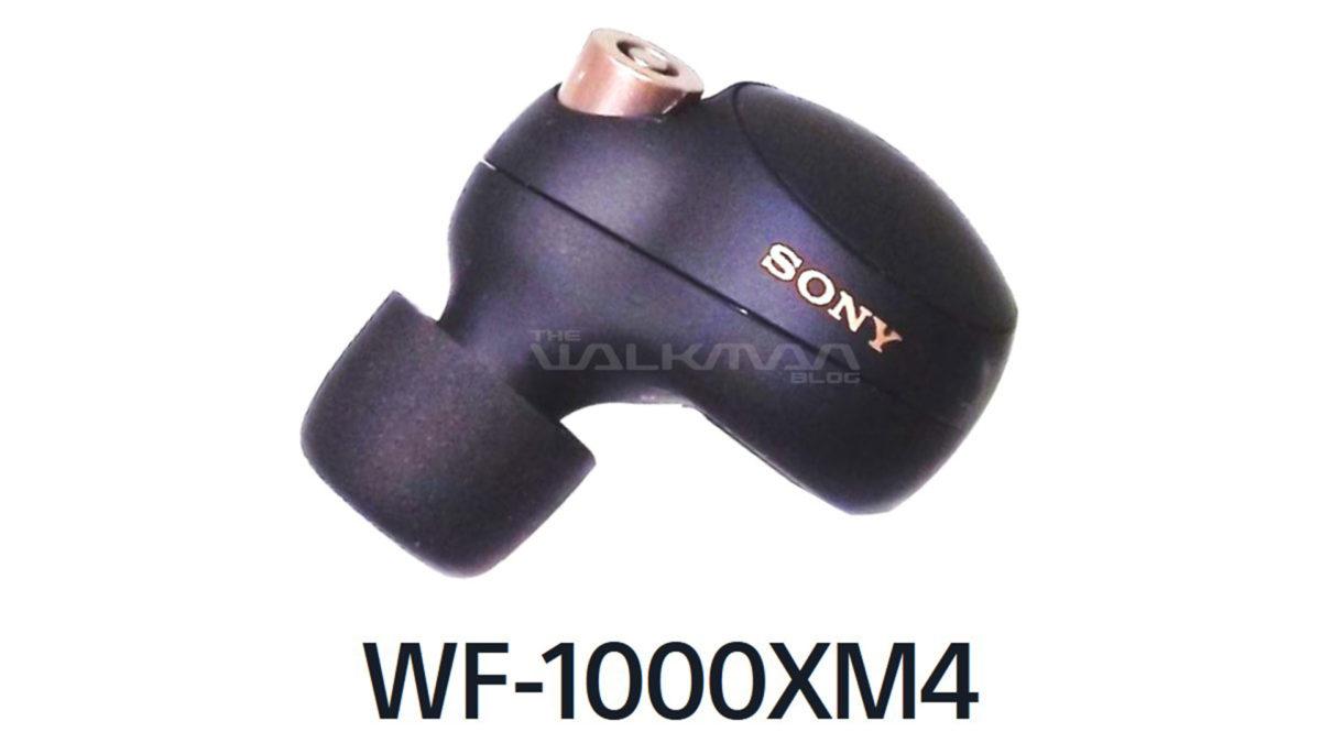 sony wf 1000xm4 leak