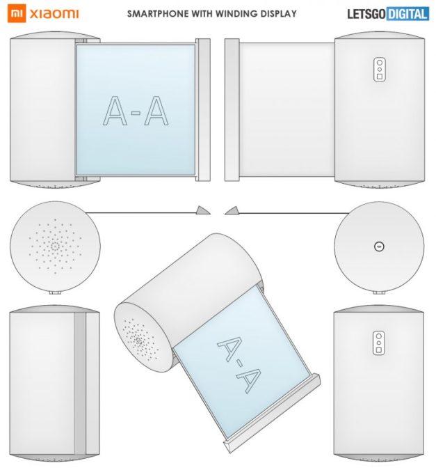 Écran enroulable pour smartphone xiaomi smart speaker