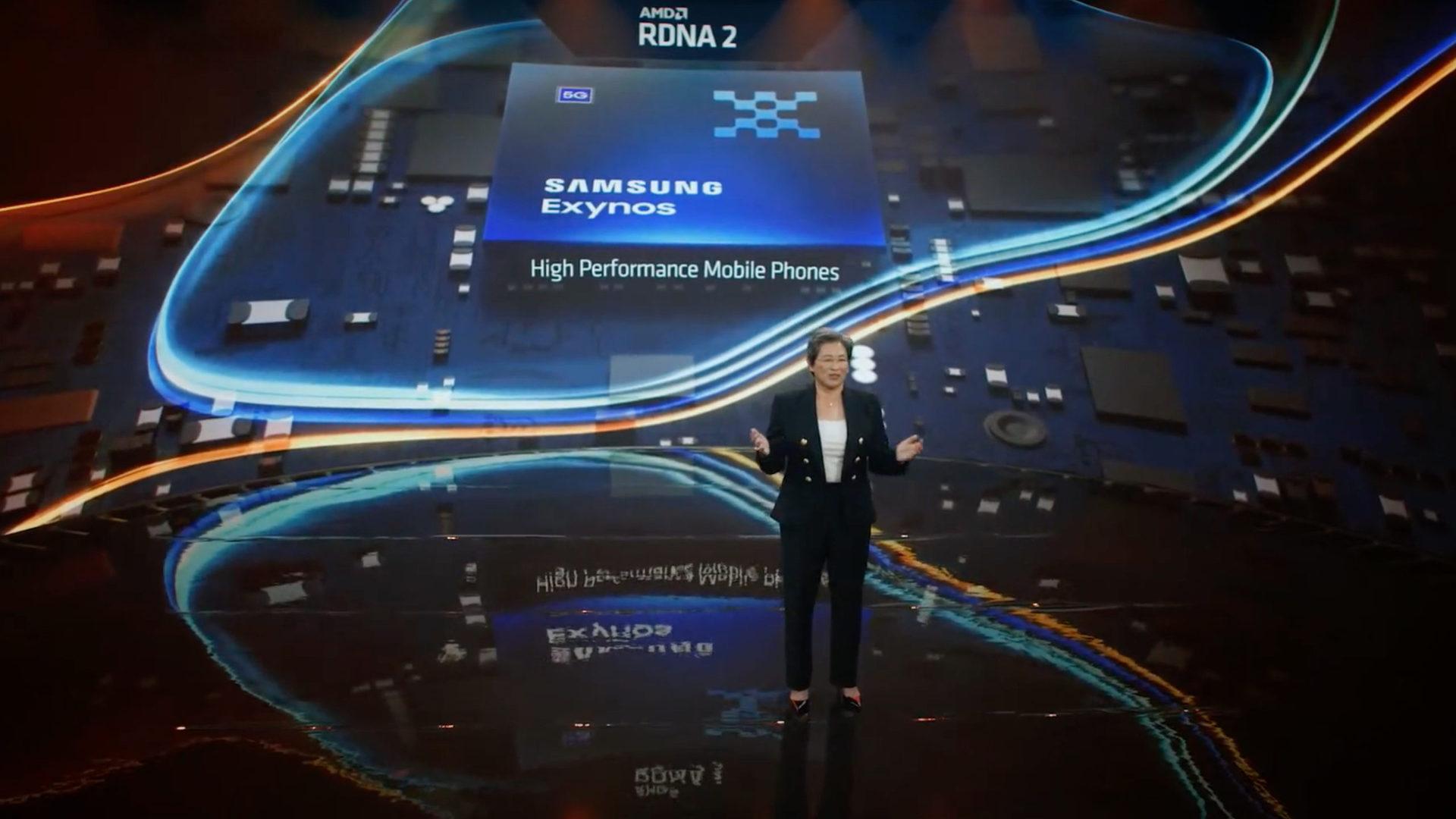 AMD Samsung Exynos chip announcement Computex 2021