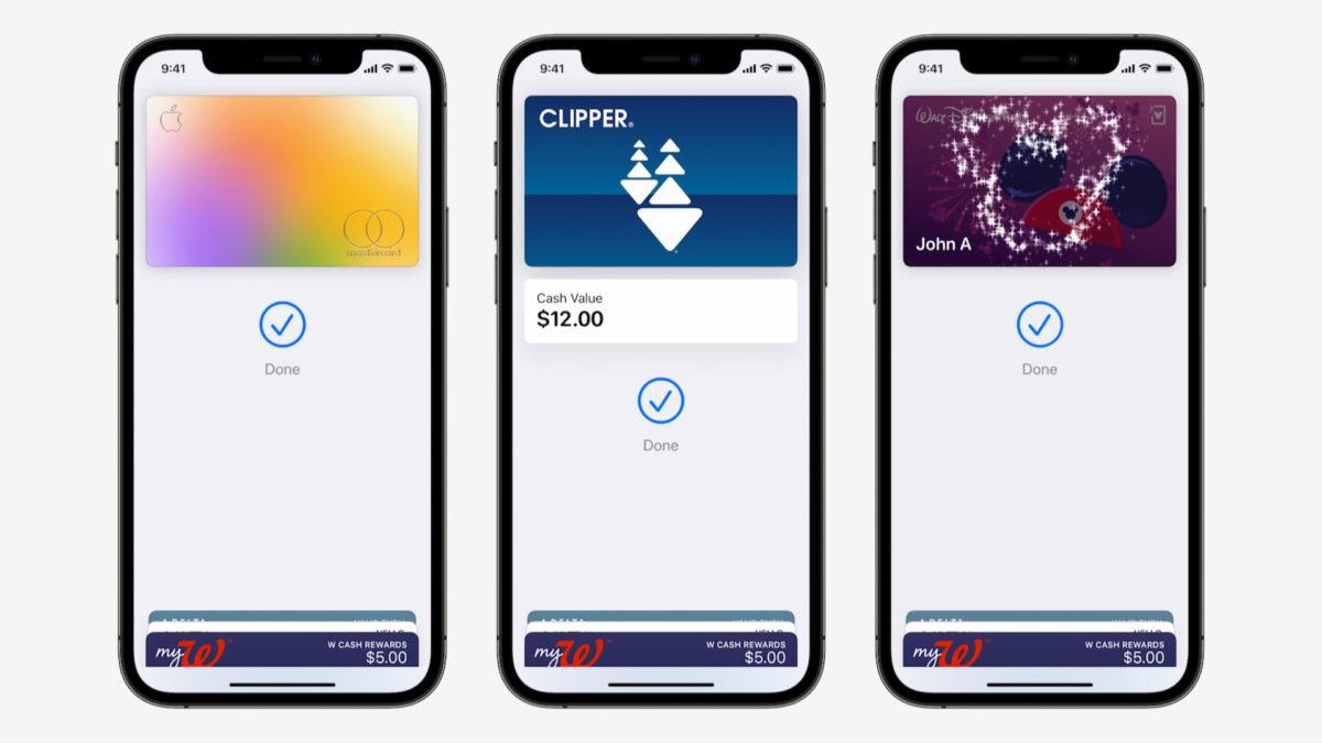 Apple iOD 15 Apple Pay