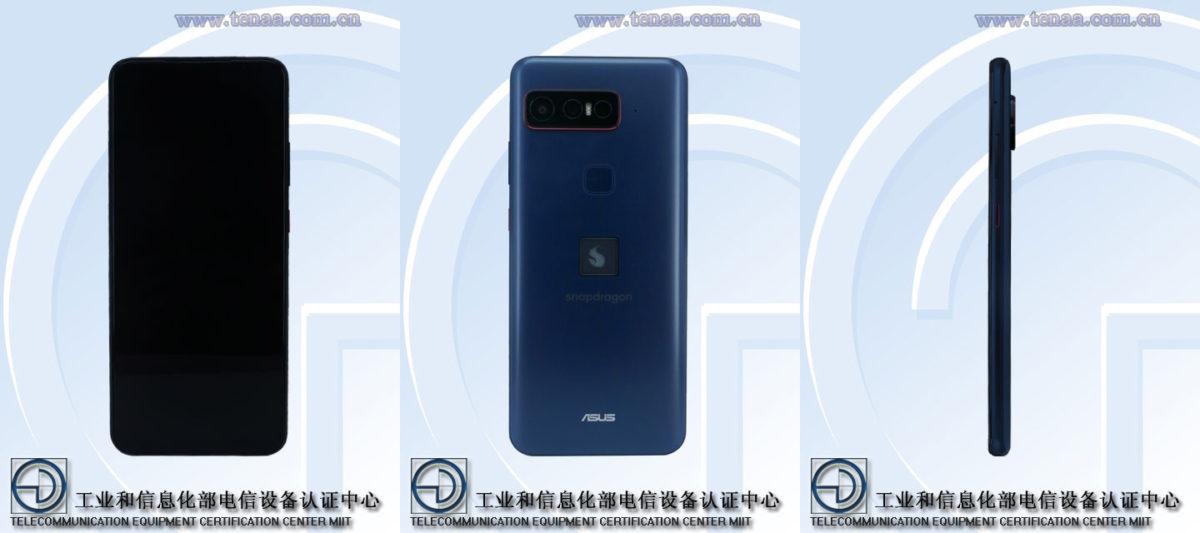 Asus Snapdragon phone TENAA composite