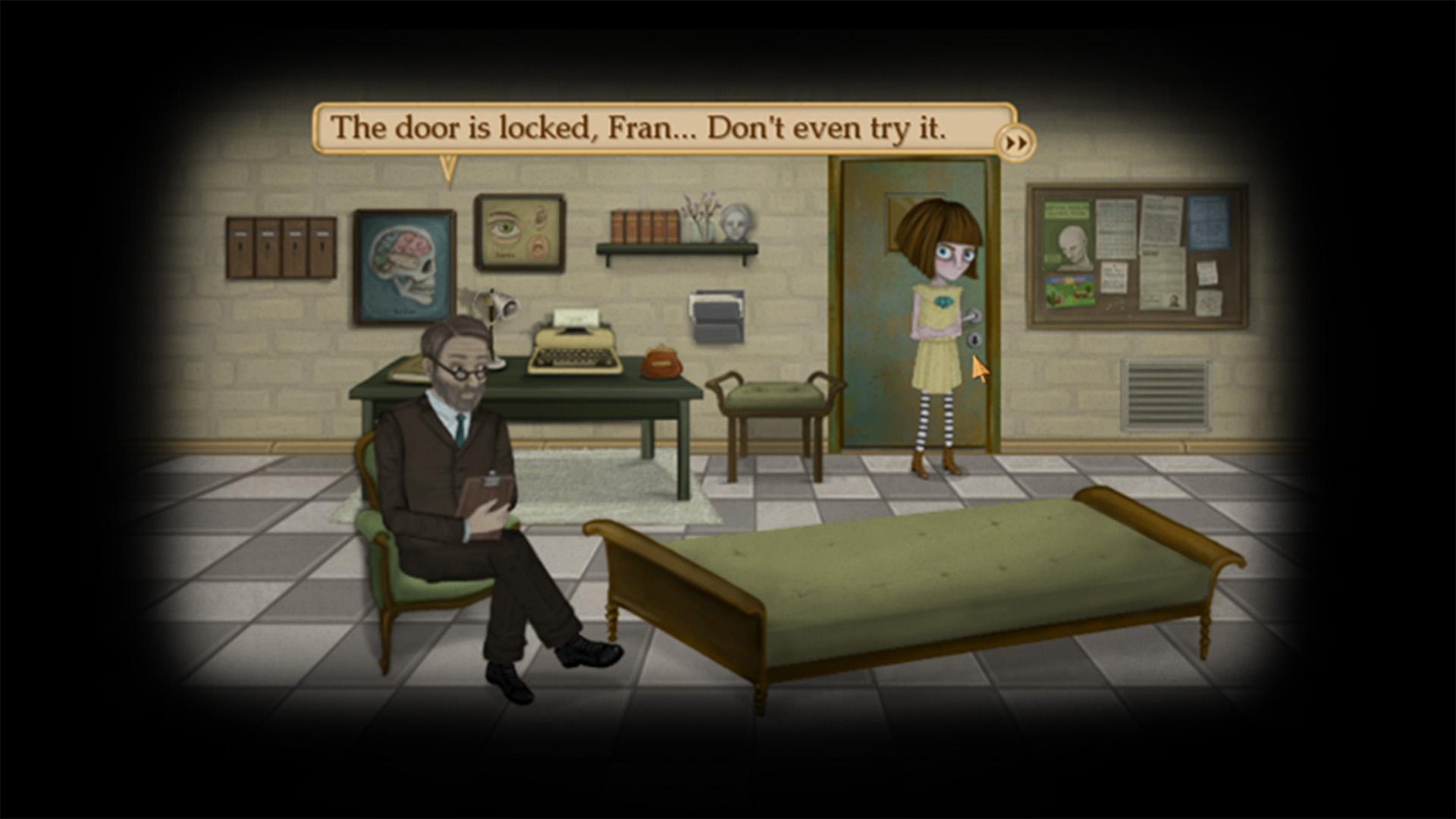 Fran Bow best psychological thriller games for Android