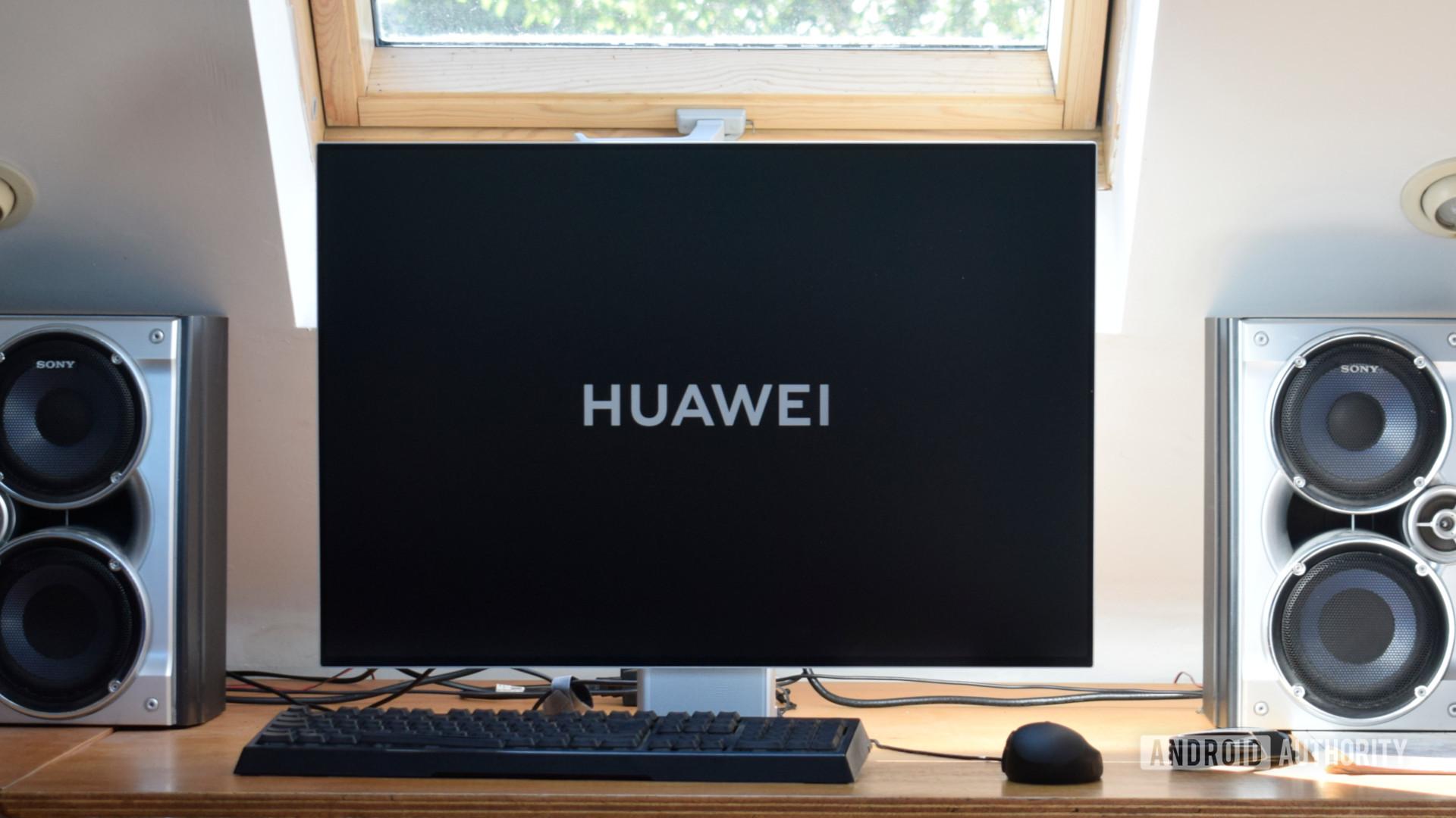 Huawei MateView display logo