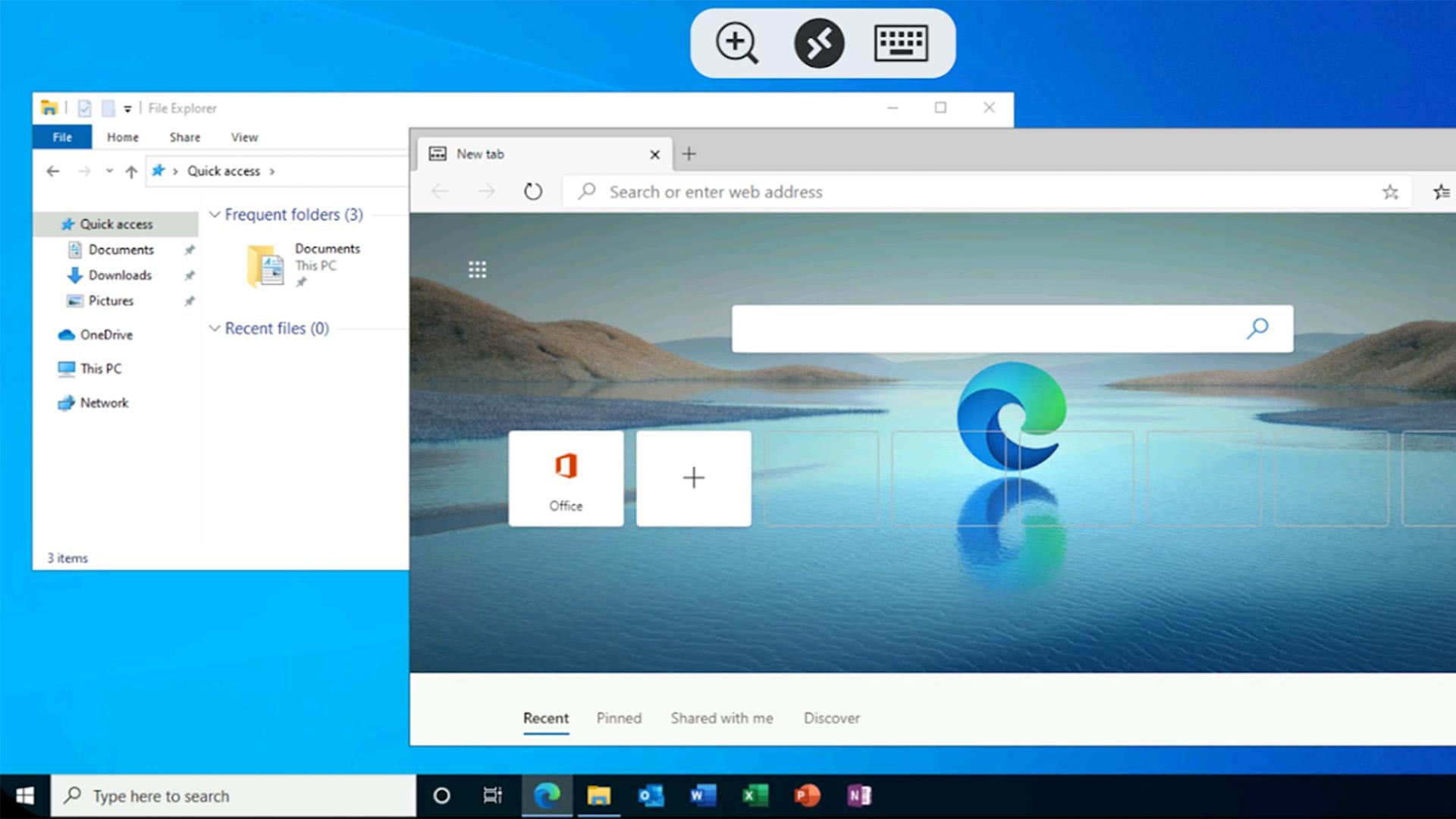 Microsoft Remote Desktop screenshot 2021