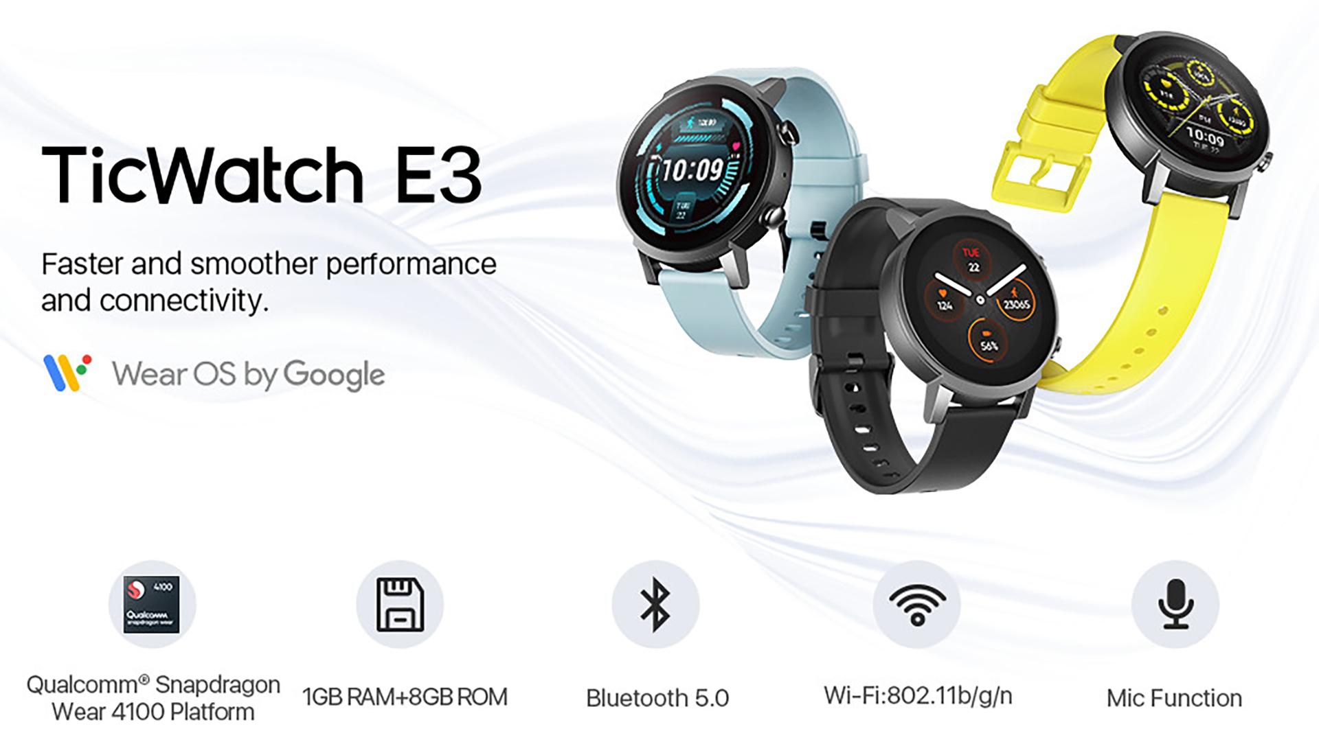 Mobvoi TicWatch E3 1