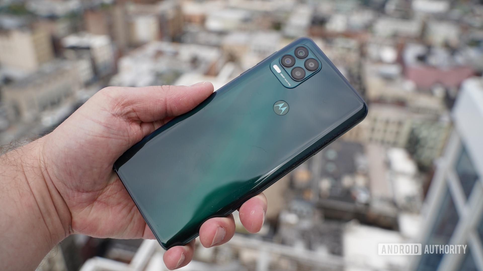 Motorola Moto G Stylus 5G in green
