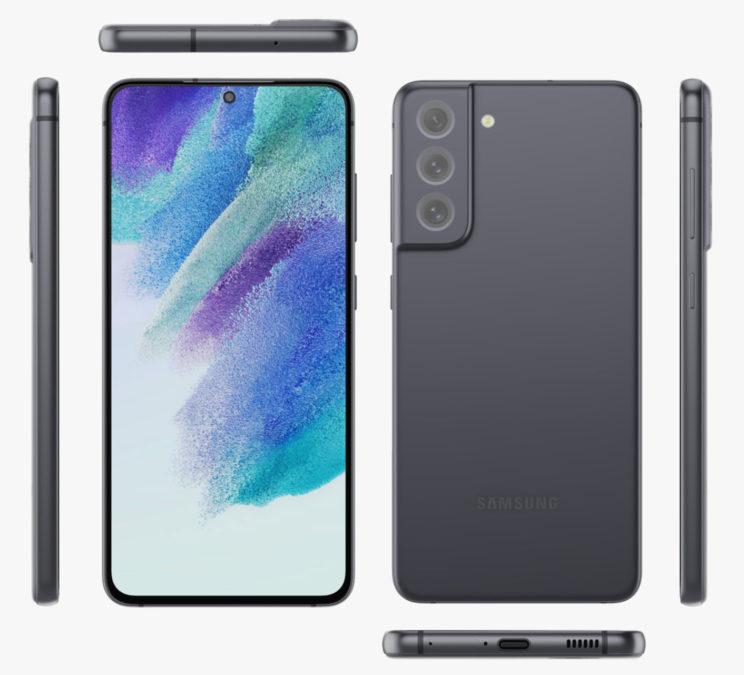 Samsung Galaxy S21 FE Black Evan Blass