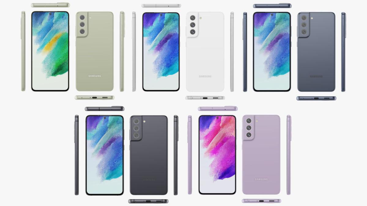 Samsung Galaxy S21 FE Designs Evan Blass