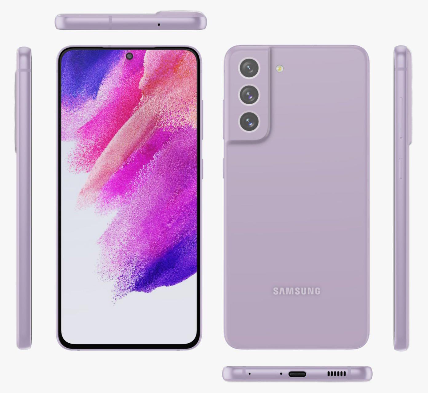 Samsung Galaxy S21 FE Purple Evan Blass