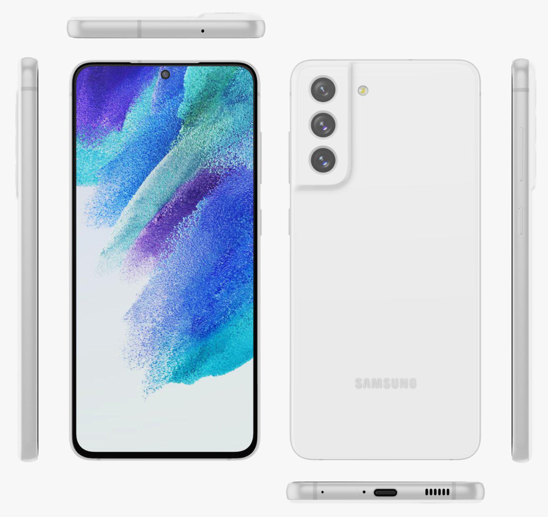 Samsung Galaxy S21 FE White Evan Blass