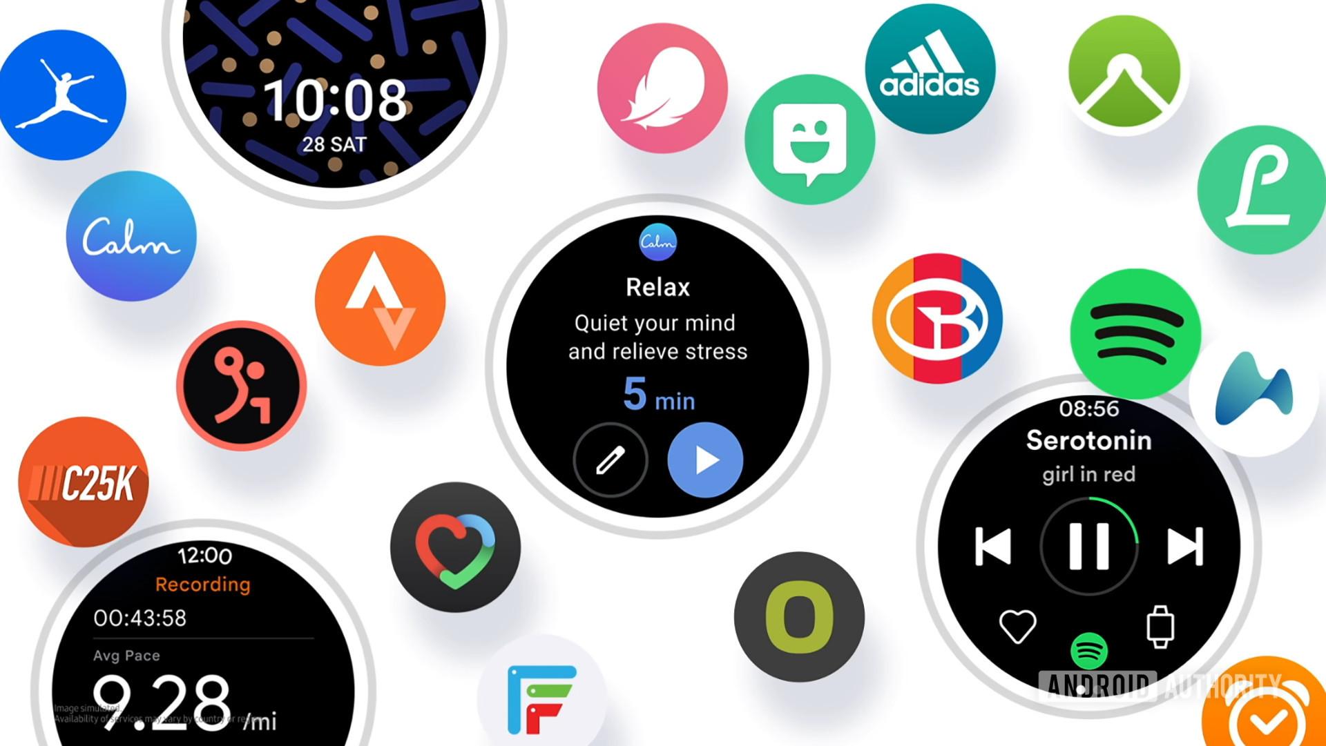 Samsung One UI Watch Hero