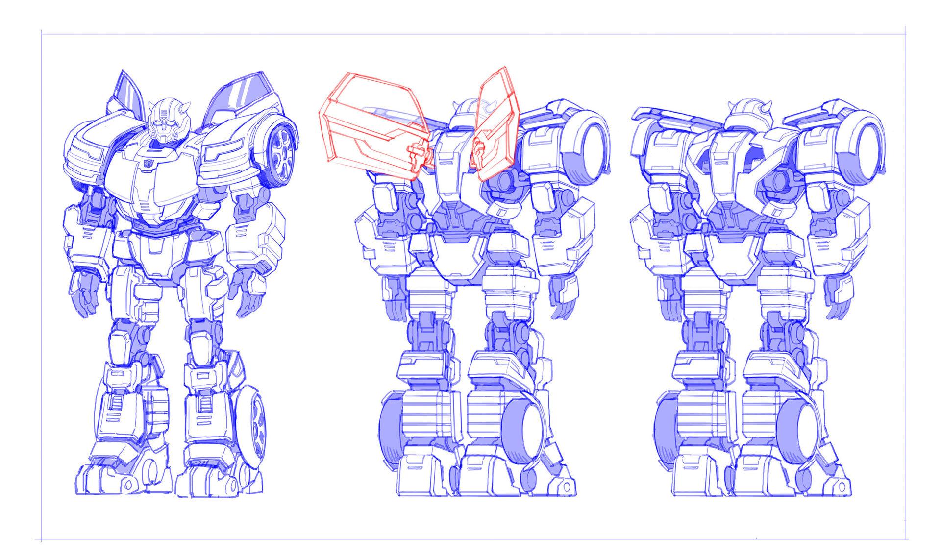 Transformers Heavy Metal Bumblebee Concept