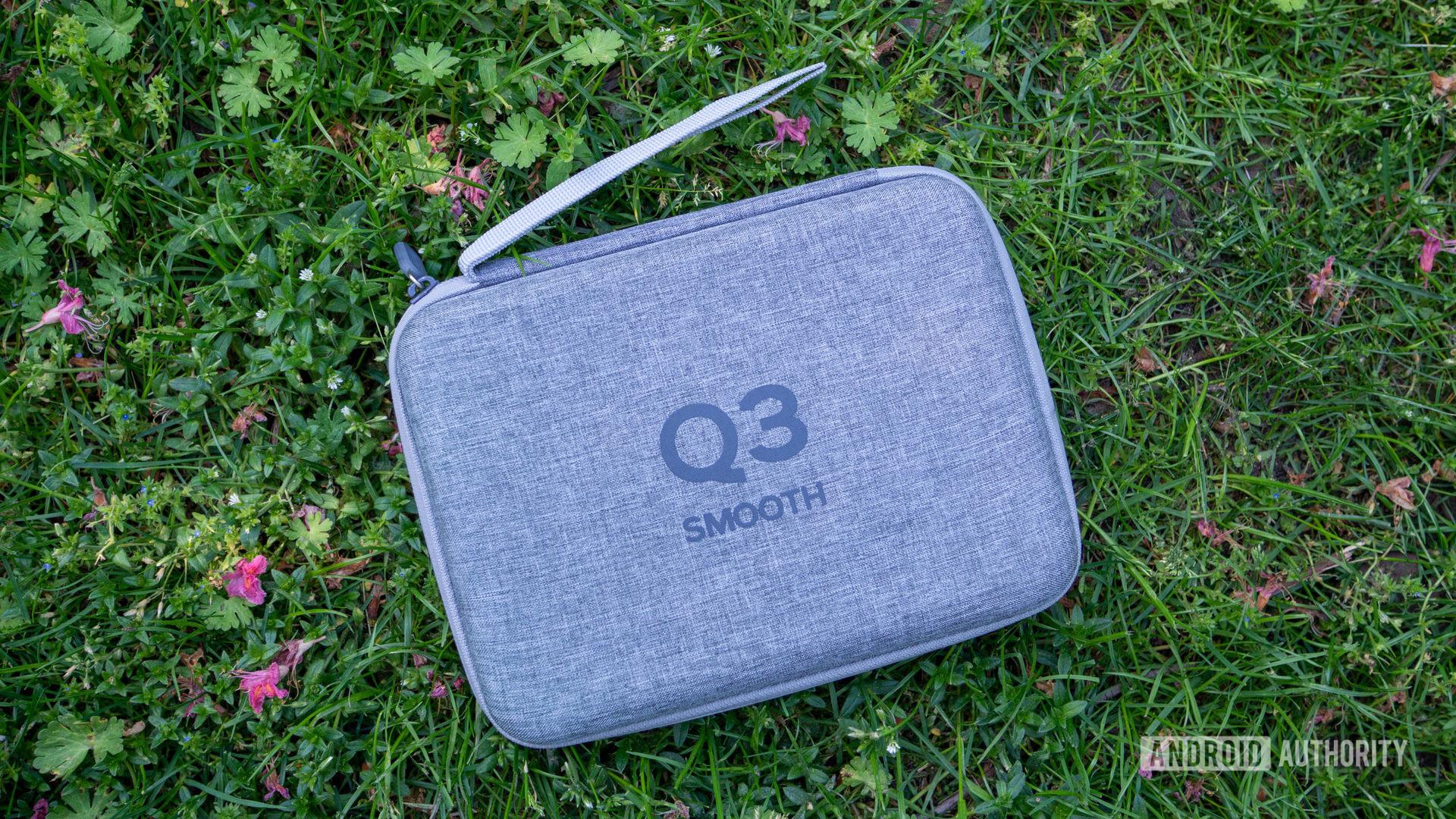 The Zhiyun Smooth-Q3 carry case