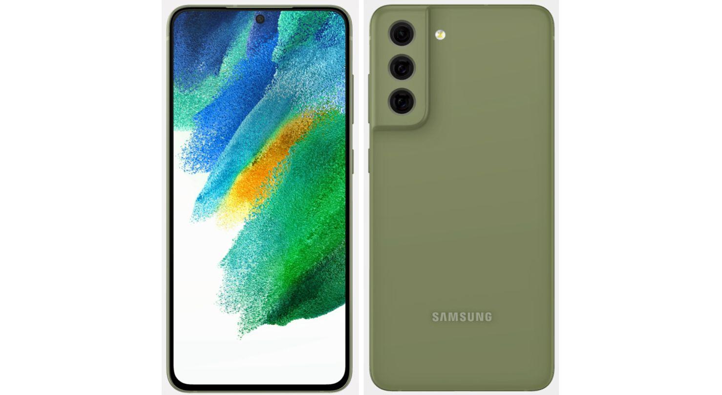 galaxy s21 fe green