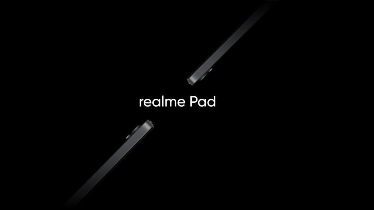 realme pad official tease
