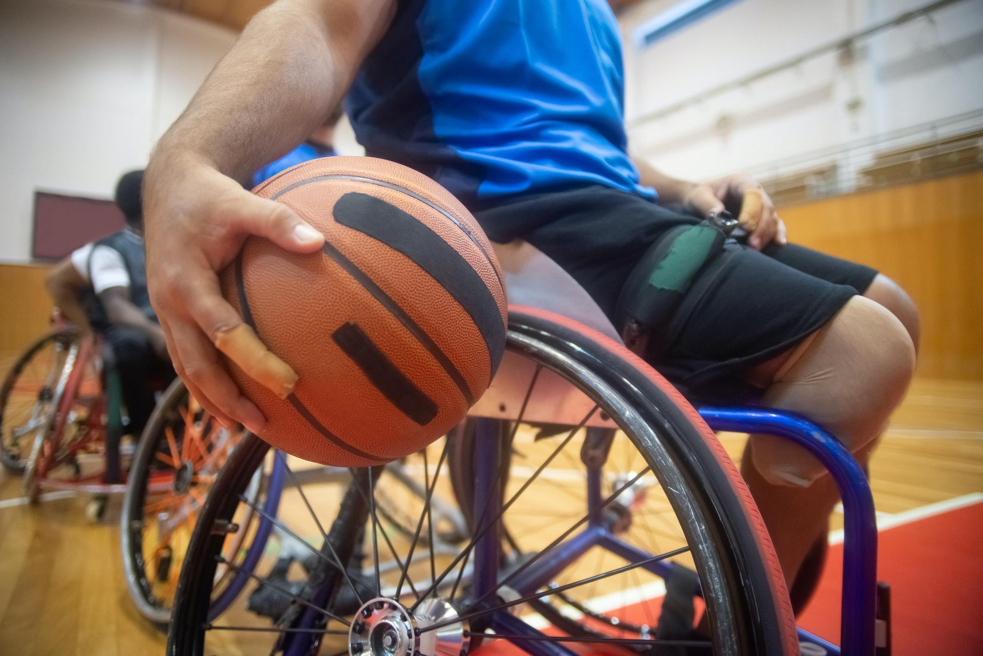 basket-ball en fauteuil roulant