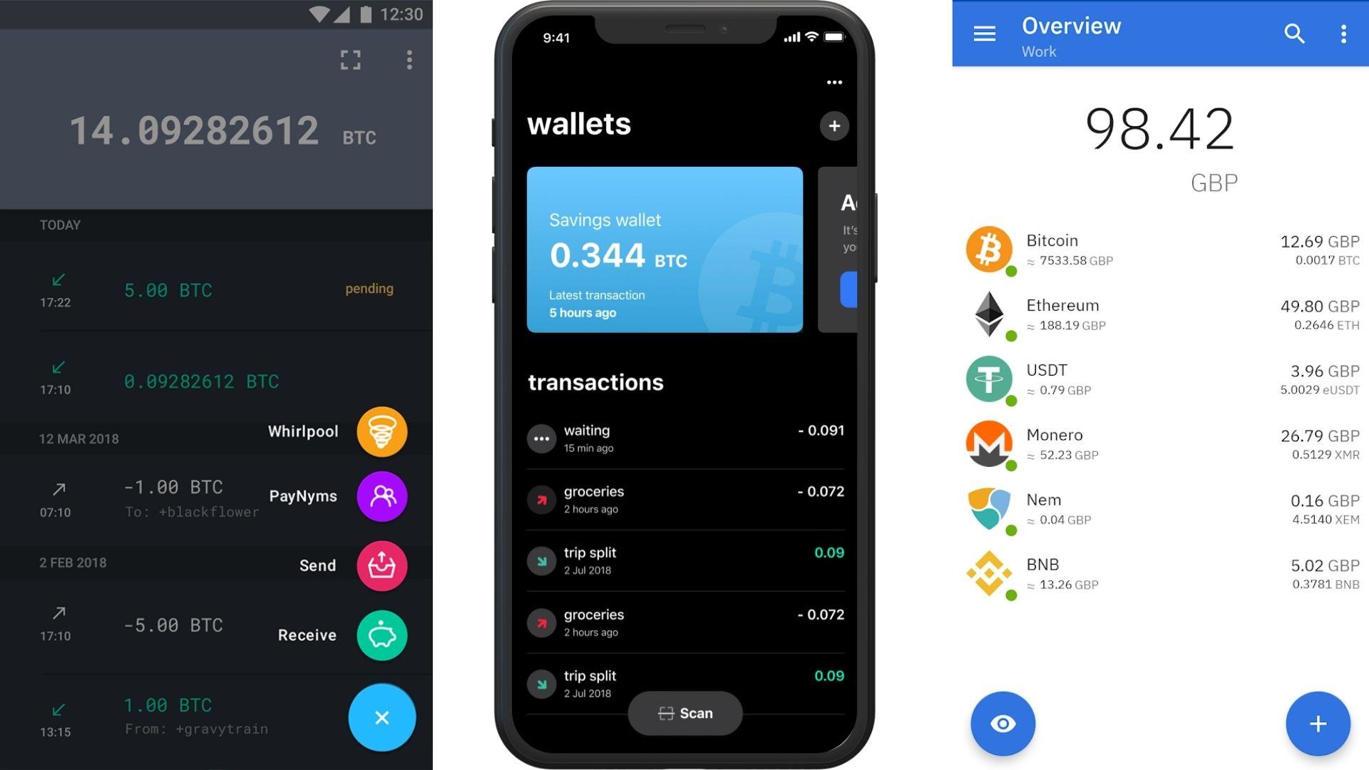 Bitcoin wallet app compilation