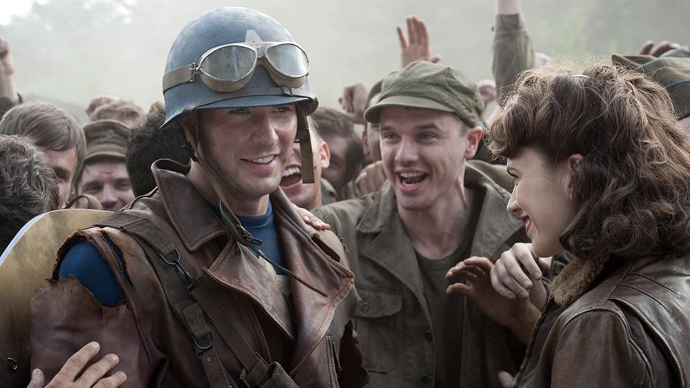 Captain America: The First Avenger Marvel Steve and Peggy