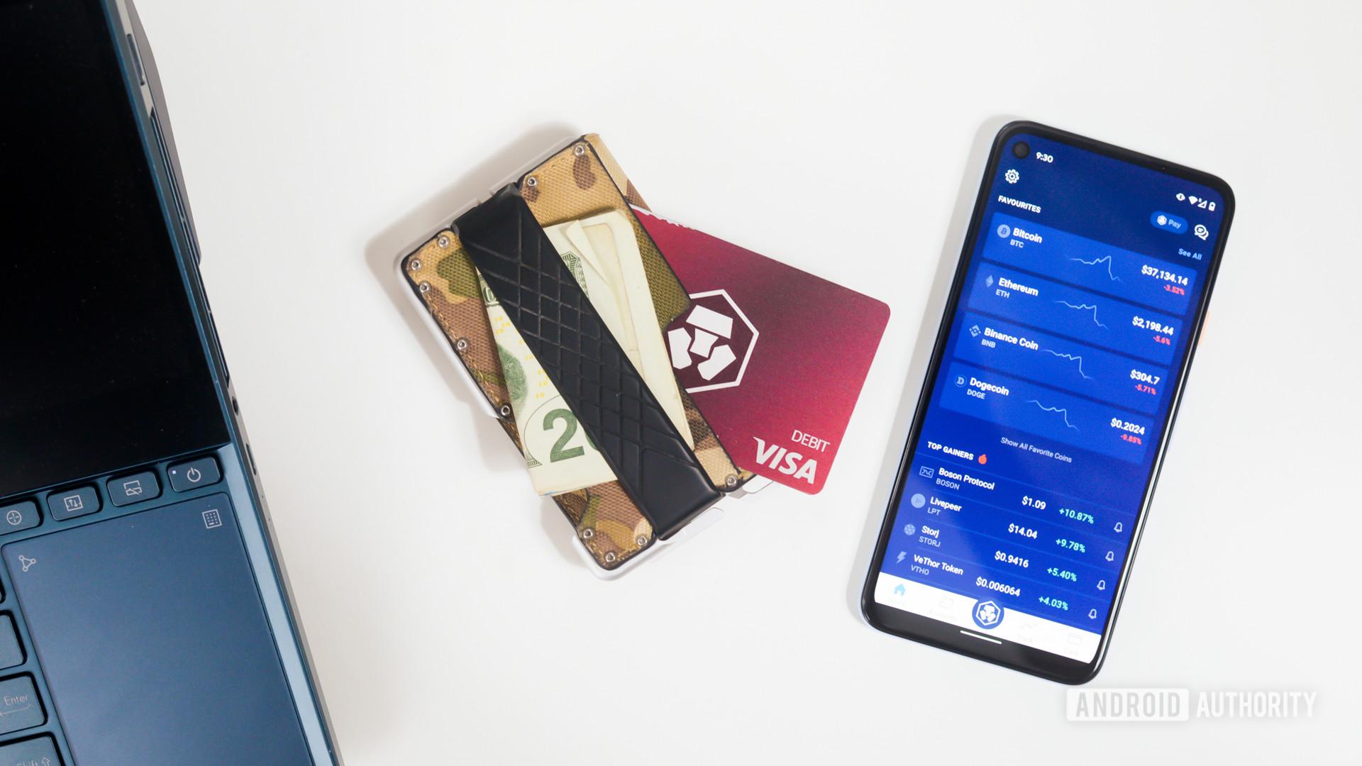 Crypto.com exchange and debit card 1
