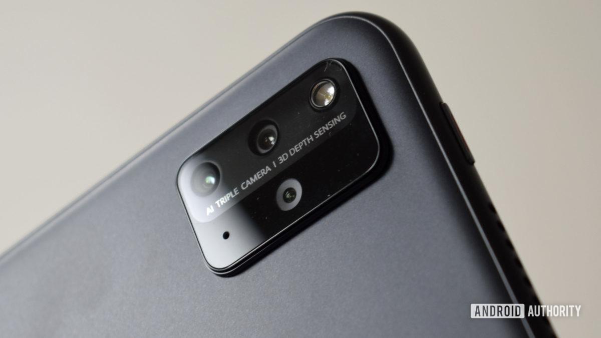 The Huawei MatePad Pro 2021 camera.