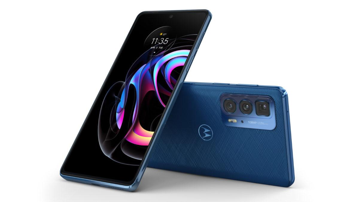 Motorola Edge 20 Pro supplied