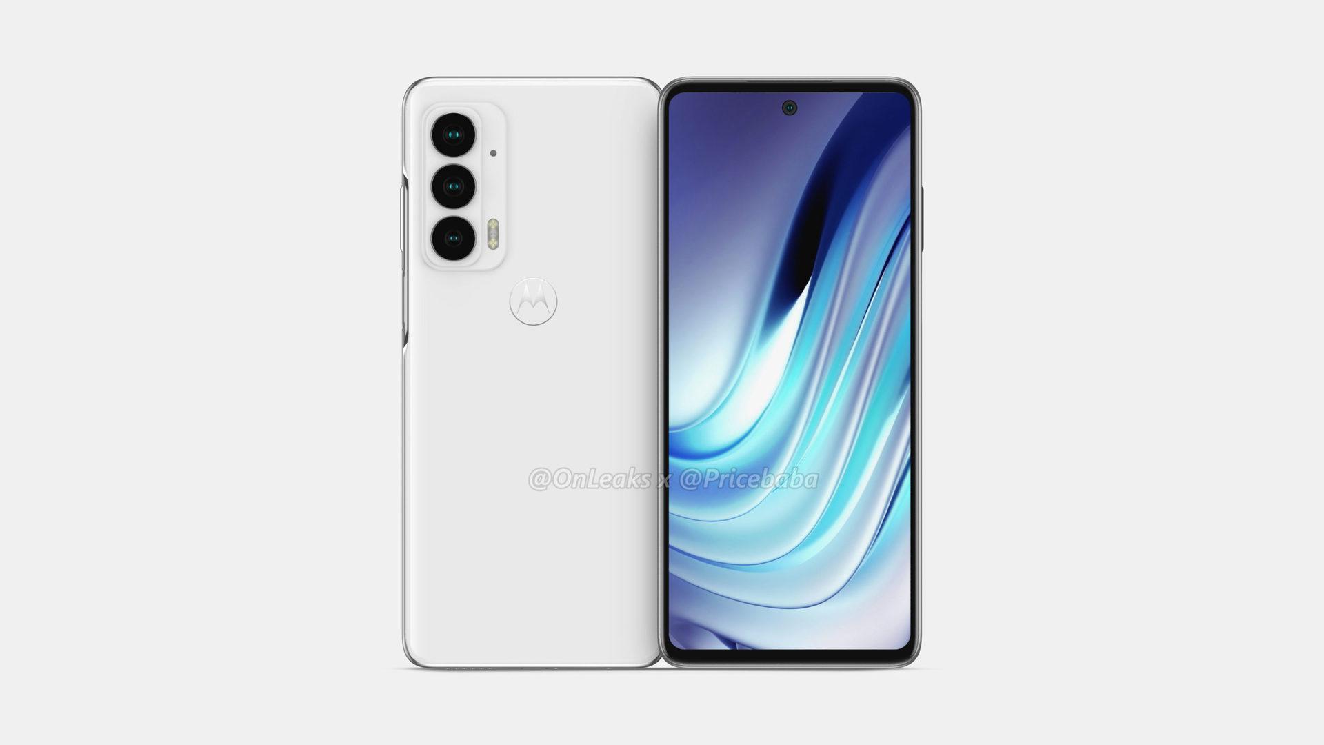 Motorola Edge 20 renders 3