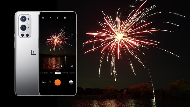 fireworks oneplus 9