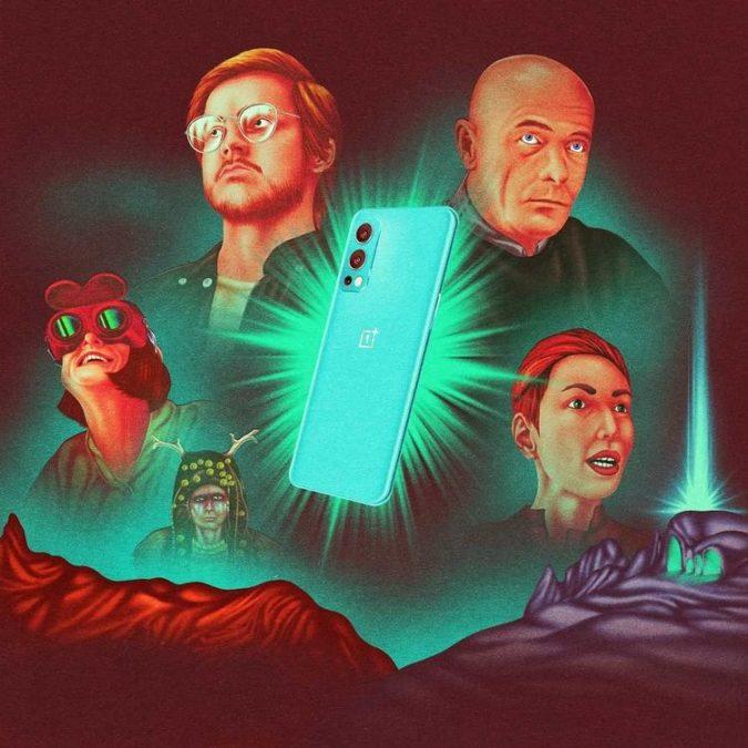 OnePlus Nord 2 Illustration