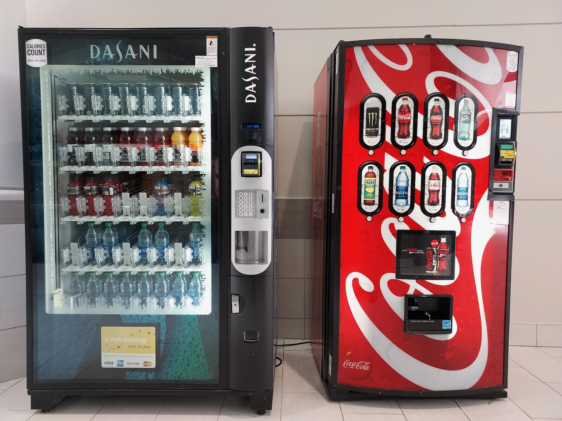 Samsung Galaxy A42 photo sample vending machines