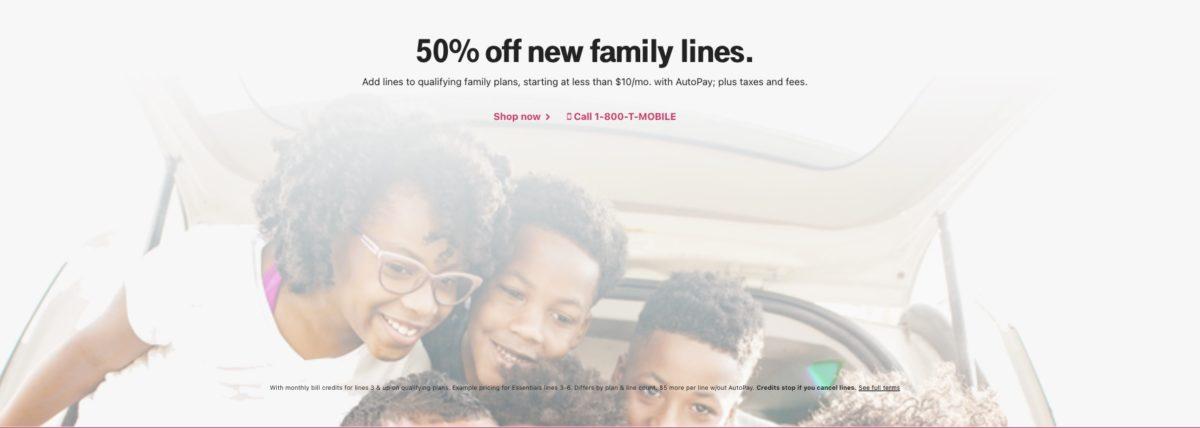 T-Mobile Family Deal