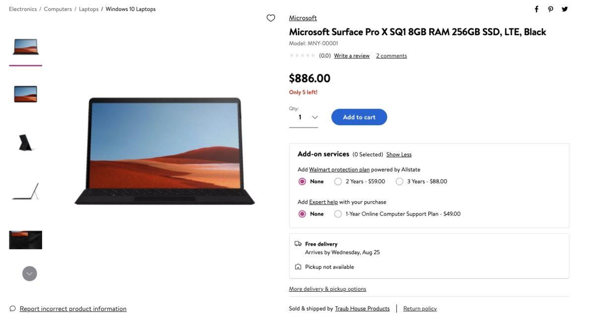 Kesepakatan Surface Pro X