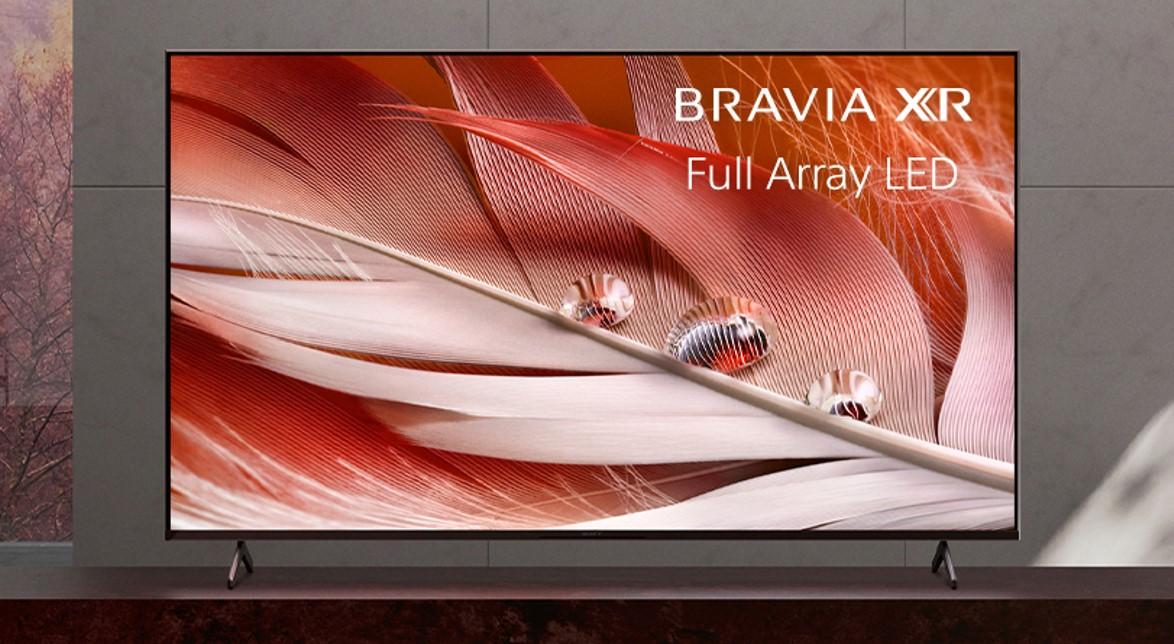 Sony X90J 65 pouces Bravia XR 4K UHD Smart Google TV image promotionnelle