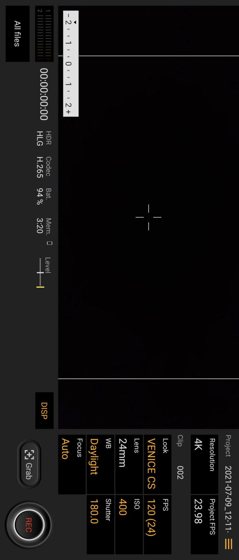 Sony Xperia 1 III Cinema Pro app