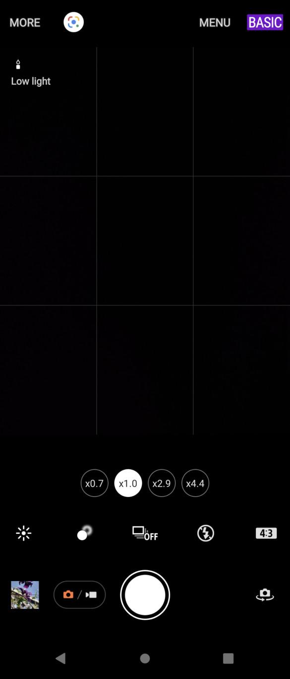 Sony Xperia 1 III basic camera app