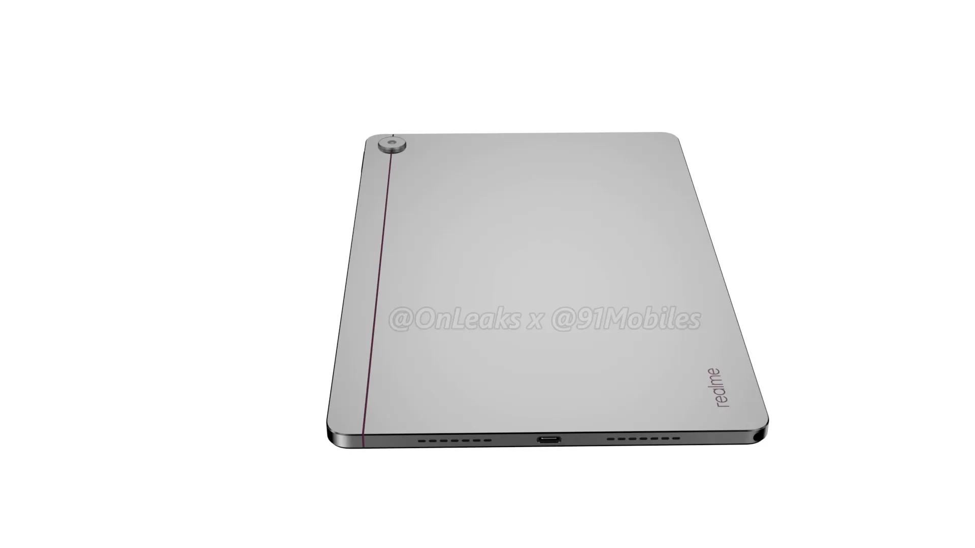 realme pad design leak 2
