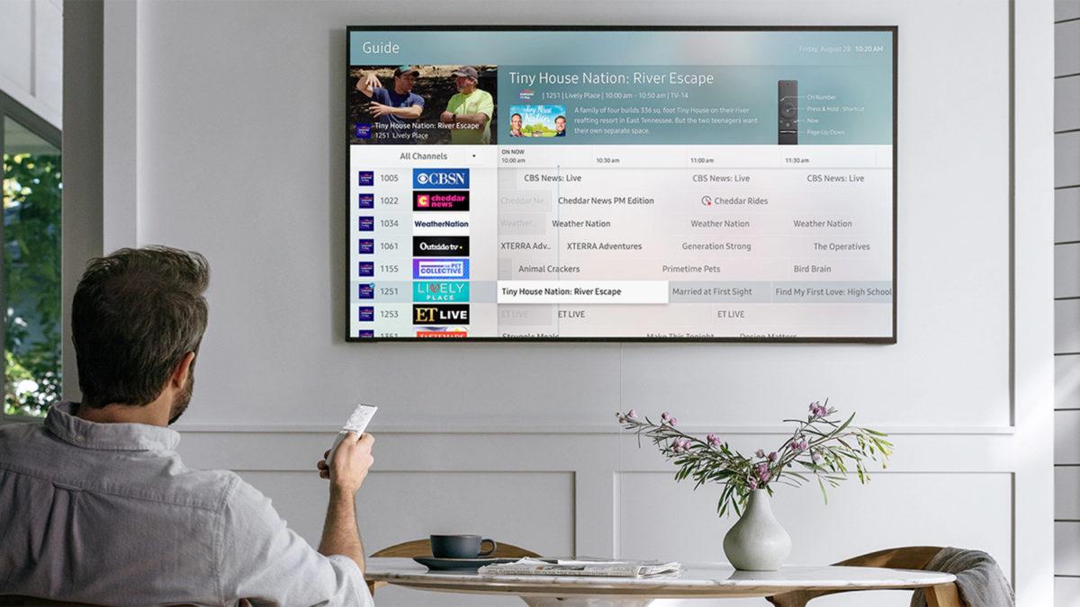 samsung free tv plus home screen