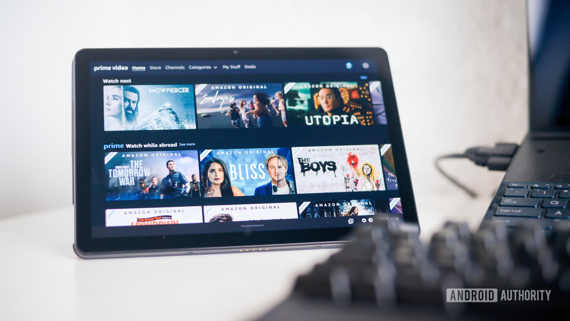 Amazon Prime Video stock image 4