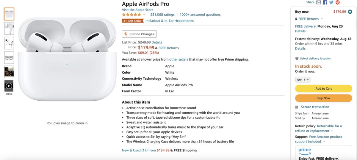 Penawaran Apple AirPods Pro