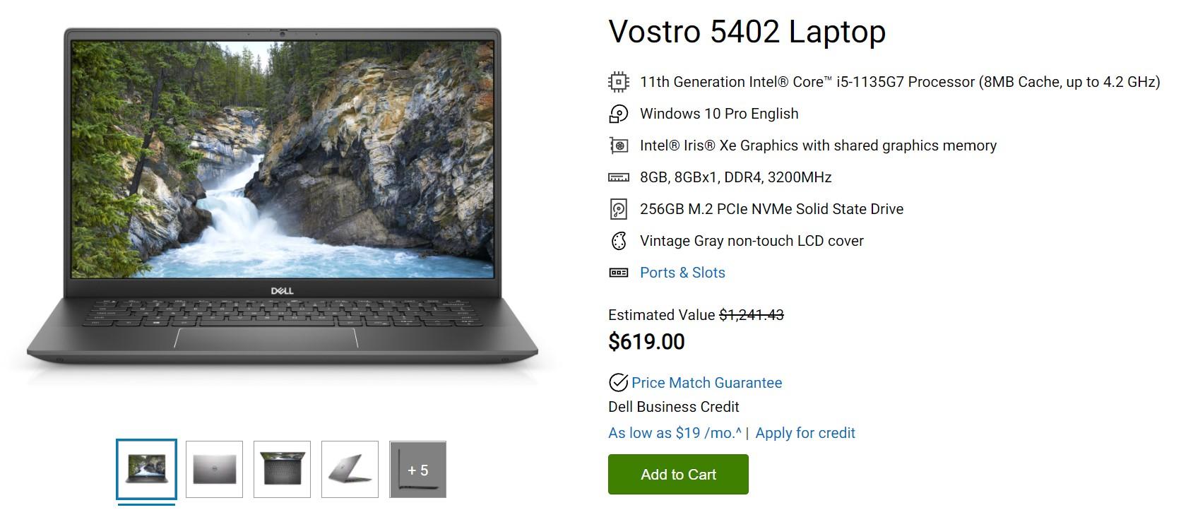 Dell Vostro 5402 Laptop Deal