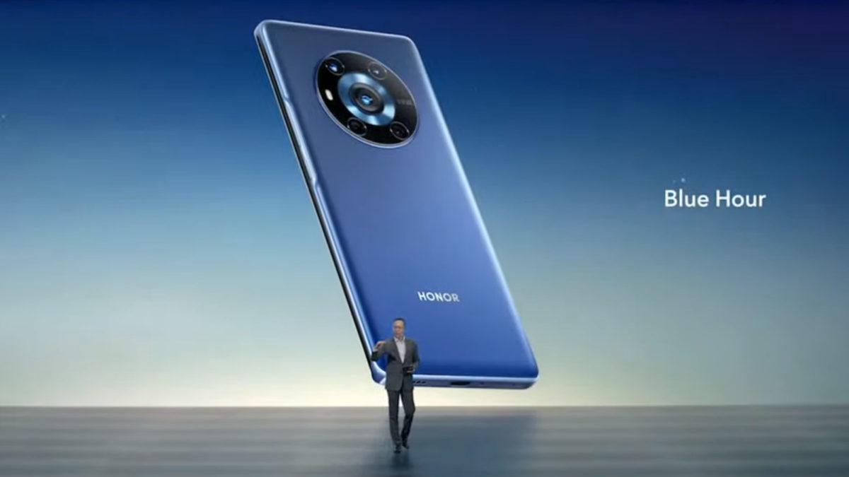Honor Magic 3 series blue