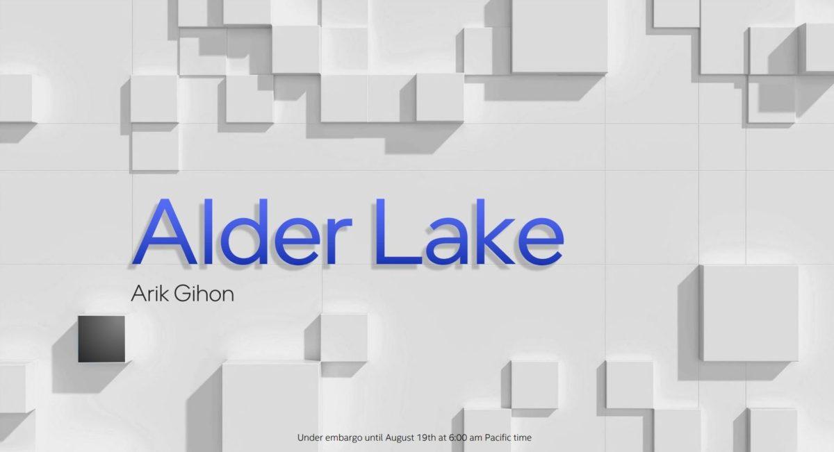 Intel Alder Lake