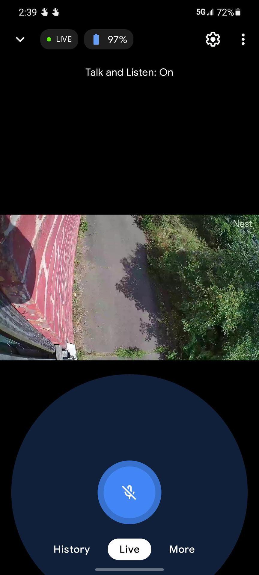 Nest Cam Screenshot Smartphone 5