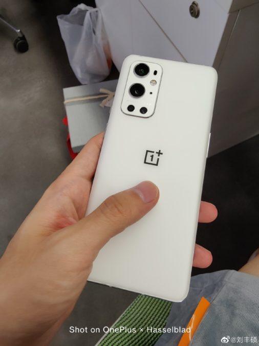 OnePlus 9 Pro white weibo Liu Fengshuo