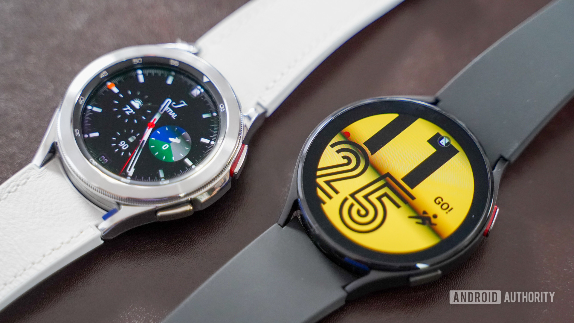 Samsung Galaxy Watch 4 Classic with Watch 4