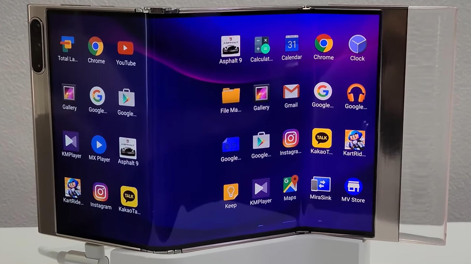 Samsung Multi Foldable
