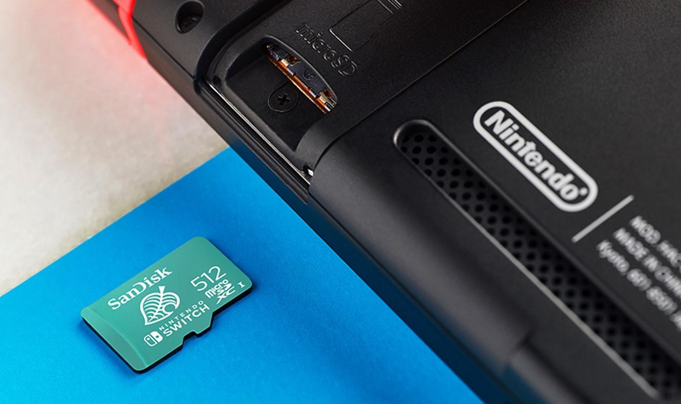SanDisk 512GB microSDXC Card Promo Image