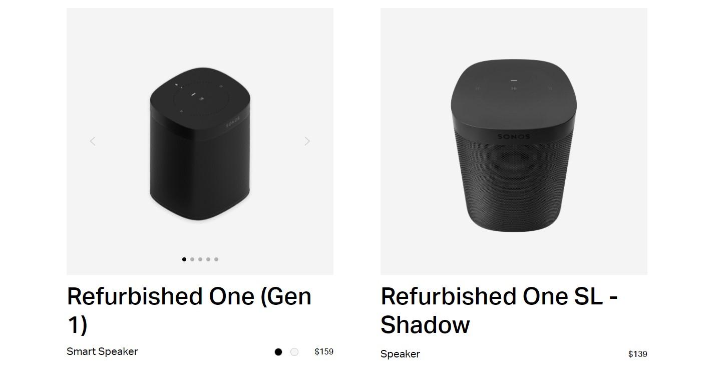 Sonos Refurbished Deals